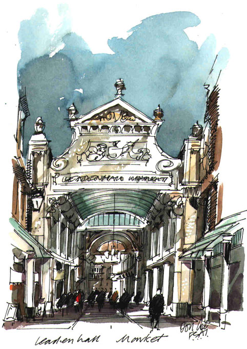 Past Exhibition: Society of Architectural Illustration