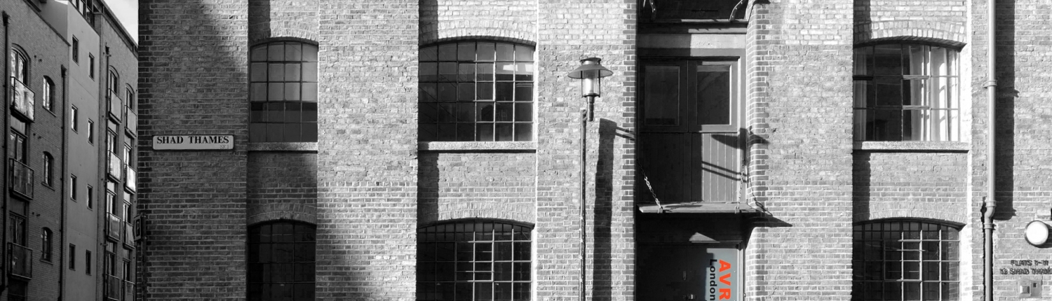 Shad Thames Front Elevation BW